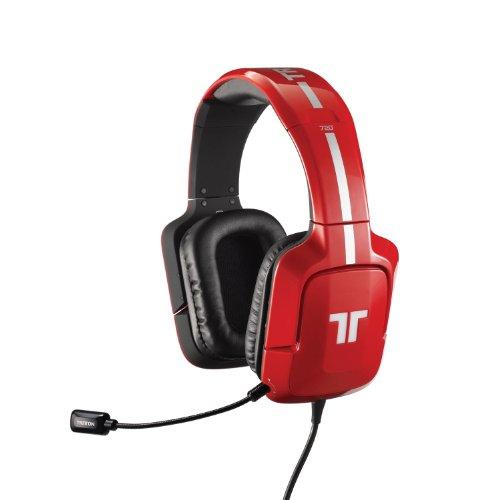 Tritton 720+ 7.1 Surround Headset für PS4/PS3, Xbox 360 und PC/Mac - Rot