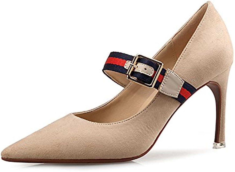 43a3a72b382163 Femmes 8CM Strap Summer Sandals Sexy Talons Aiguilles Stiletto Stiletto  Stiletto Partie Bridal Escarpins Mesdames Classique 1 Chaussures.