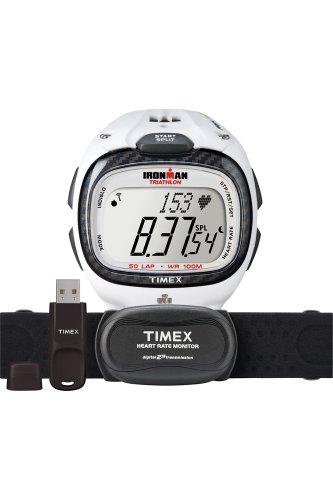 Timex Sport Unisex-Armbanduhr Herzfreuquenzmesser Digital Kautschuk T5K490