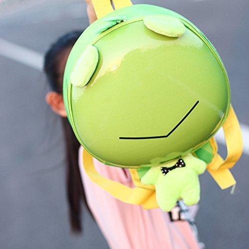 TianranRT ,  Baby Mädchen Unisex Baby Baby Jungen Unisex-Kinder Rucksackhandtaschen Grüner Frosch