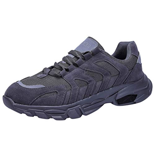DOLDOA Baskets Homme de Mesh Chaussures de Tourisme de décontractée Chaussures de Running Homme de Respirant Chaussure de sécurité Homme de Poids léger Chaussure de Sport Homme Pas Ch