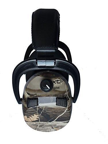 Farm Cottage Brands Tattico Pro Paraorecchi Elettronici NRR 25 Mimetico colore e con quattro direzionale microfono per individuare dove suoni provengono e sentire di più ideale per caccia,da tiro e