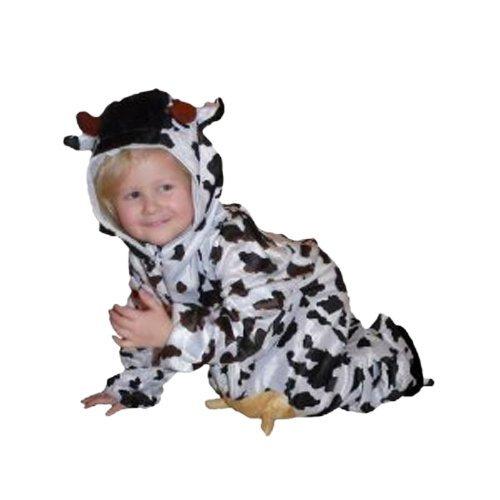 (Seruna Kuh-Kostüm, AN32/00 Gr. 86-92, für Klein-Kinder, Babies, Kuh-Kostüme Kühe Kinder-Kostüme Fasching Karneval, Kleinkinder-Karnevalskostüme, Faschingskostüme, Geburtstags-Geschenk)