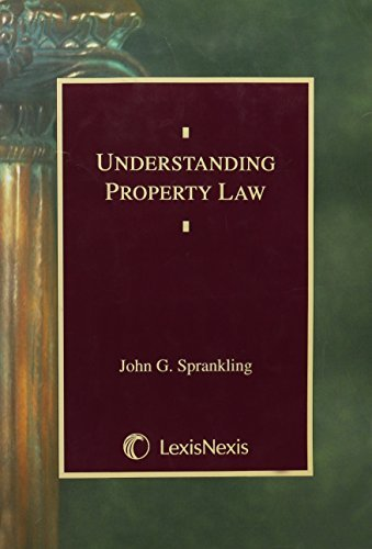 Understanding Property Law (Student Guide Series) by John G. Sprankling (2000-07-30)