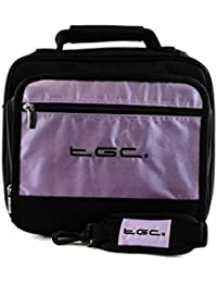 """iBaste 10.1"""" Portable DVD Player Twin compartment Case Bag by TGC ®"""