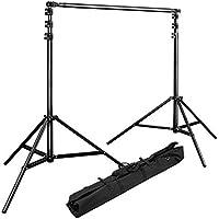 Bresser BR-D27 Hintergrundsystem, 260 x 300 cm schwarz