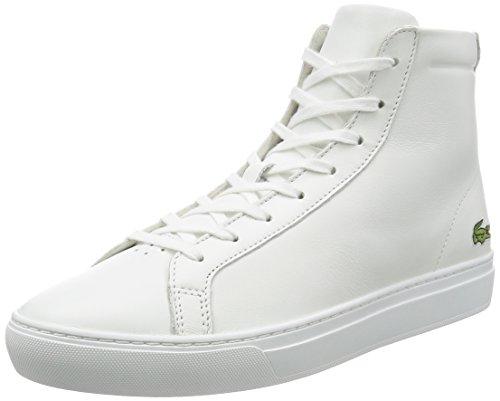 Lacoste L.12.12 Mid 316 1 Cam, Basses Homme Blanc (Wht)