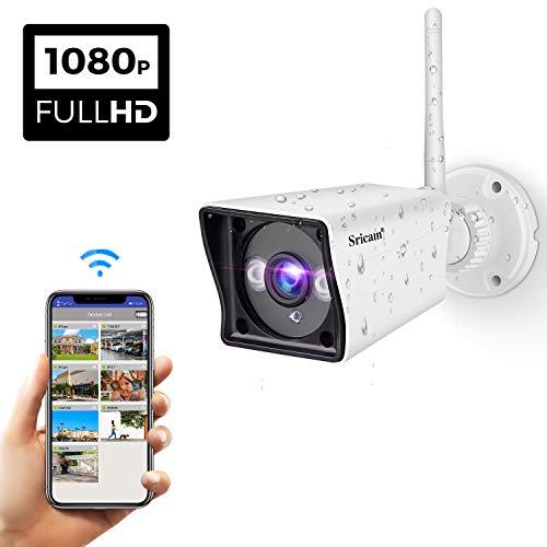 Sricam WiFi Cámara IP HD Seguridad Aire Libre Interior