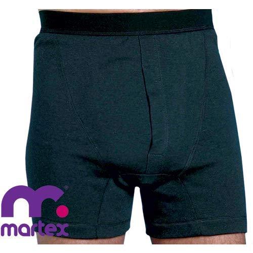 MARTEX WASHABLE ABSORBENT INCONTINENCE BOXER SHORTS - Herren Inkontinenz Hose (Mittel)