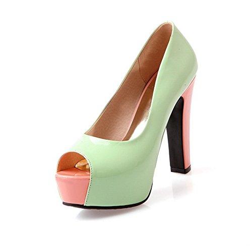 Adee , Damen Sandalen Grün