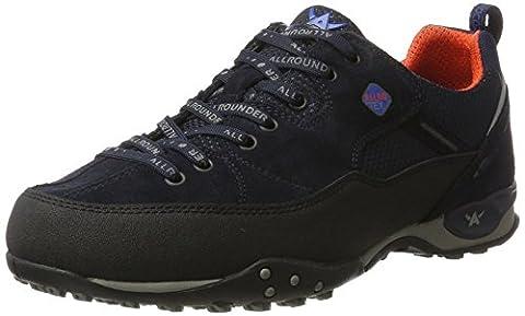 Allrounder by Mephisto Tacco-Tex, Chaussures Multisport Outdoor Homme, Blau (Black/Ocean), 44 EU