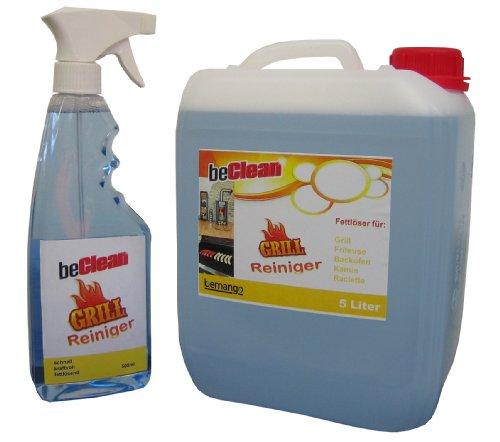 Grillreiniger Beclean Cleanstar 5 L Kanister Mit Sprhflasche