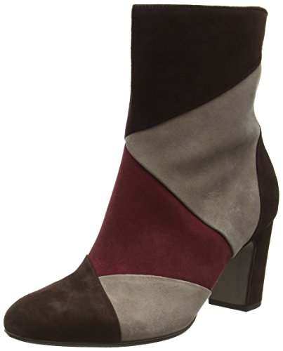 Gabor Basic, Stivali Donna Multicolore (Brown/Sangria/kies 10)