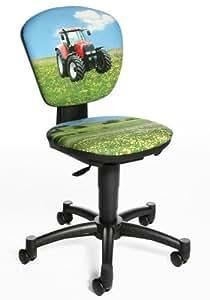 Topstar Kinder Bürostuhl/Drehstuhl MAXX KID Traktor Stoff