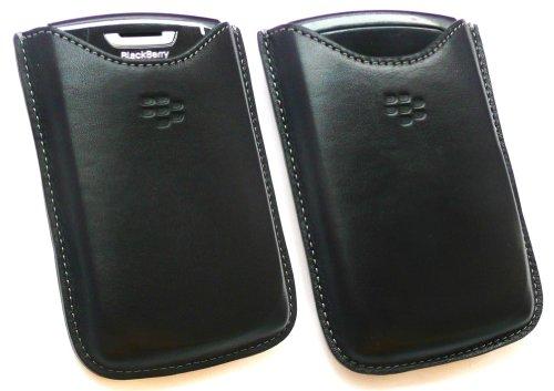 BLACKBERRY PREMIUM SCHUTZHÜLLE AUS LEDER SCHWARZ BULK PACK PASSEND FÜR BLACKBERRY 8800 SERIE Blackberry 8800 Holster