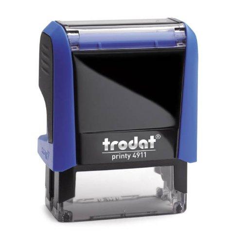 trodat Textstempelautomat Printy 4911, 4-zeilig, blau VE=1