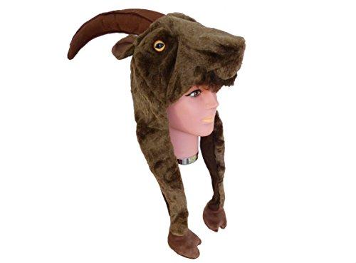 Kostüm Für Erwachsene Dachs (Tiermütze Plüsch Mütze)