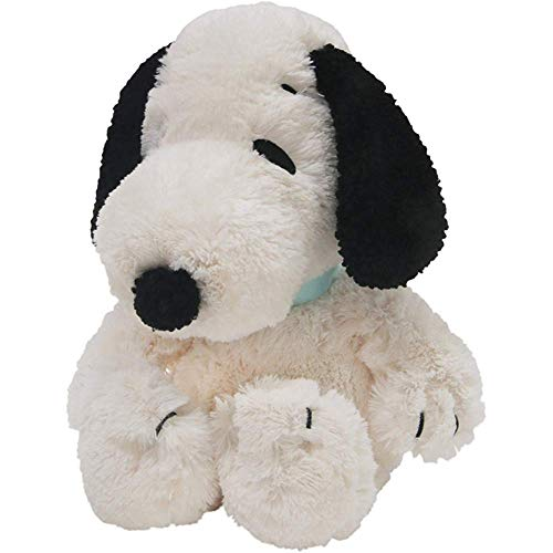 Estrange Lambs & IVY Peanut Snoopy Toy Dog - White/Black, 1 Pack 12Months