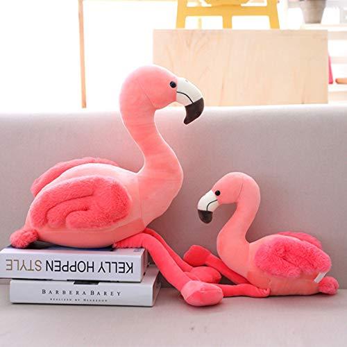 Ecent Flamingo Plüsch Plüschtier Flamingo Kissen Dekorative Stofftier Spielzeug Geschenk- 25/35/50cm (Flamingo Stofftier)
