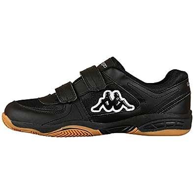 Kappa CABER TEENS, Unisex-Kinder Sneakers, Schwarz (1111 black), 36 EU (3.5 Kinder UK)