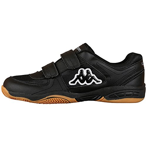 Kappa CABER T Footwear Unisex-Kinder Sneakers Schwarz (1111 black)