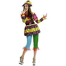 My Other Me - Disfraz de Arlequina, talla M-L (Viving Costumes MOM00561)