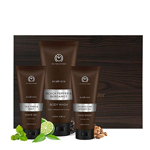 The Man Company The Triple Cleanse gift set for men (Tea Tree...
