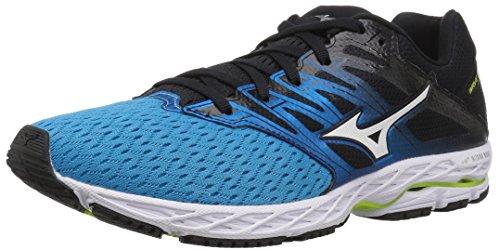 Mizuno Herren Wave Shadow 2 Running Shoe, Laufschuh, Peacock Blue/Teaberry, 41 EU