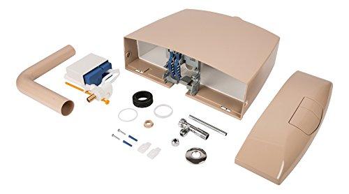 Spülkasten Karat   Kunststoff   2 Mengen Spültechnik   3,5 Liter oder 6 - 9 Liter   Tiefspülkasten   WC, Toilette   Beige