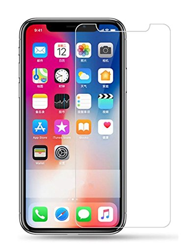 Galleria fotografica VEVICE 2PCS/iPhone x trasparente anteriore tempered glass Screen Protector, 2.5d 9H durezza per iPhone x-ultra sottile