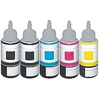 Ti de SA Basic Refill tinta para Epson T6641para Epson EcoTank 2550–black–Potencia: aprox. 4000páginas/5% de, color (06) 5x Ti-Sa Refill Tinte
