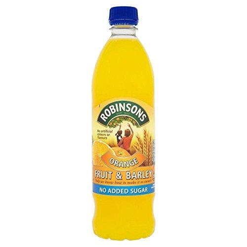 Robinsons Fruit & Barley, Orange Squash ohne Zuckerzusatz (1 l) - Packung mit 6