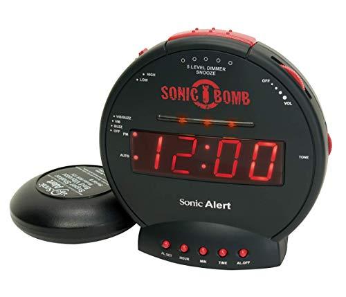 Geemarc Sonic Bomb Despertador con vibración (113 Db ...