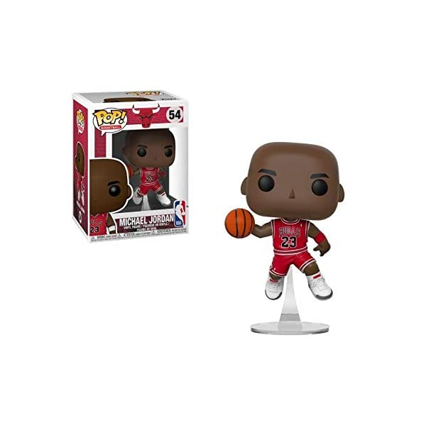 Funko Pop Michael Jordan haciendo mate (NBA 54) Funko Pop NBA