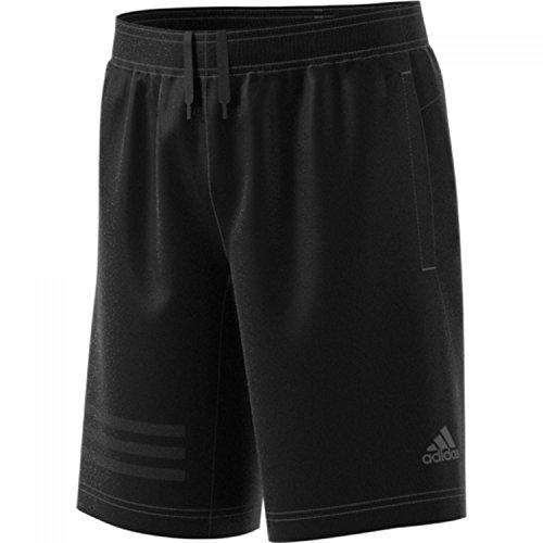 adidas Jungen Training 3 Stripes Woven Short 1/2 Black 152