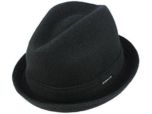 Kangol Wool Player Hut aus Wolle - schwarz XL/60-61 (Wool Player Kangol)