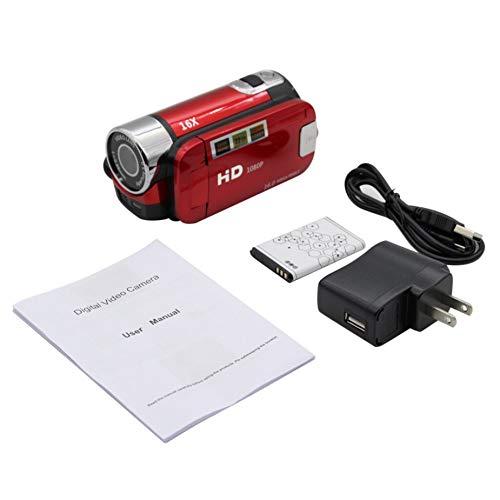 Price comparison product image Nowakk 2.4 Inch Screen Full HD 1080P Digital TFT Camera 16.0 Mega Pixels CMOS Sensor DV With LED Fill Light Video Camera Recorder