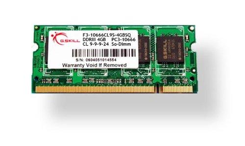 G.Skill 2GB DDR3-1600 SQ, F3-12800CL9S-2GBSQ - Cl9-pc-speicher