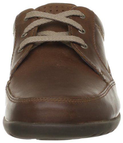 Clarks Recline Out, Chaussures de ville homme Marron (Tan Leather)