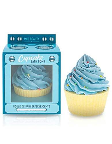 Mad Beauty - Bath Bomb In The Oven - Badekugeln Cupcake Blue - 1 Stück