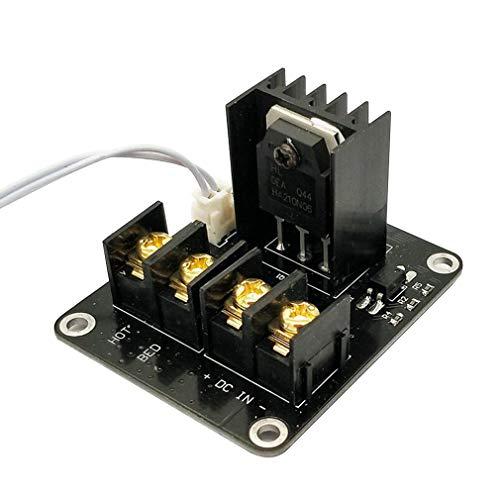 Heatbed Power Module, 3D Drucker Hot Bed Power Erweiterungsplatine MOS Tube High Current Load Modul