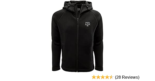Levelwear LEY9R Adult Men Titan Insignia Strong Style Full Zip Hooded Jacket Small Black