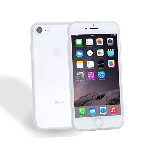 iPhone 7 hülle, Danura Schutzhülle iPhone 7 Case Anti-Scratch Cover Bumper Anti-Scratch Plating TPU Silikon Durchsichtig Rückschale für iPhone 7 (transparent) transparent