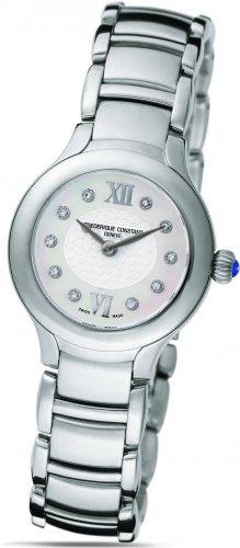 Frederique Constant Geneve Delight FC200WHD1ER6B Elegante orologio da donna con diamanti autentici
