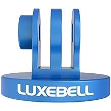 Luxebell Adaptador de Montaje en Trípode de Aluminio para GoPro Hero4 Hero3+ Hero3 Hero2 Hero1 y Cámaras SJ4000, SJ5000 (Azul)
