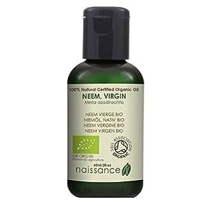 Naissance Olio di Neem Vergine Biologico - Olio Vegetale Puro al 100% - 60ml
