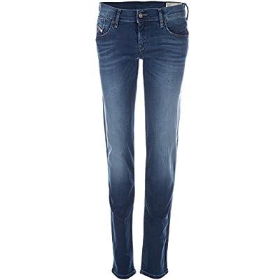 Womens Diesel Getlegg Jeans In Light Blue