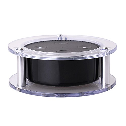 xcsource-acrylic-speaker-holder-wall-mount-stable-stand-transparent-for-amazon-alexa-echo-dot-2nd-ge