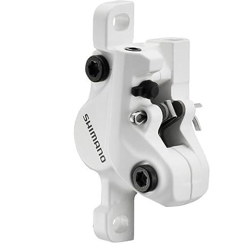 Shimano Alivio br-m447Bremse, Bremssattel ohne Adapter für vorne oder hinten Weiß weiß Right Hand