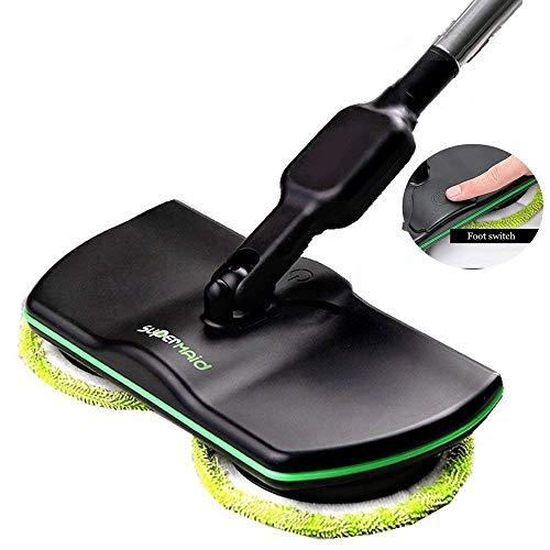 T-xyd mop elettrico rotativo a batteria ricaricabile pulitore per pavimenti elettrico pulitrice a macchina mop tenuto in mano a vuoto pavimento tappeto spazzatrice
